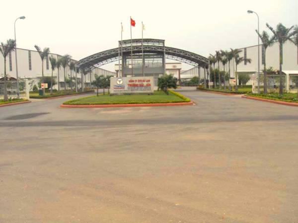 Công Trình Thảm Nhựa Bê Tông Nhà Máy Auto Trường Hải - Thaco