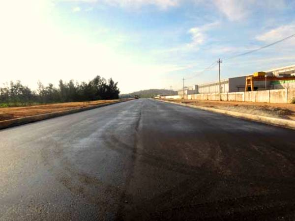 The Asphalt Concrete Roads for the East Doosan Area Project